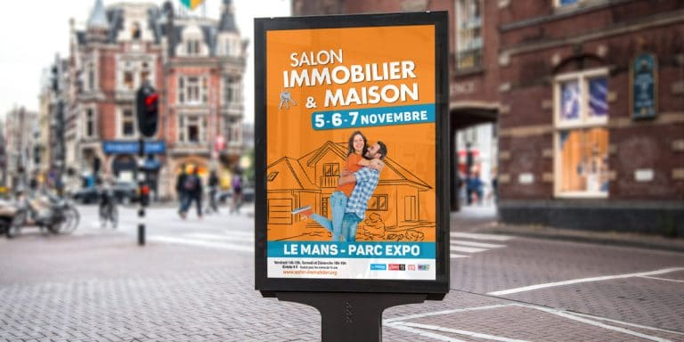 Salon Immobilier & Maison, le Mans du  05 au 07 novembre 2021